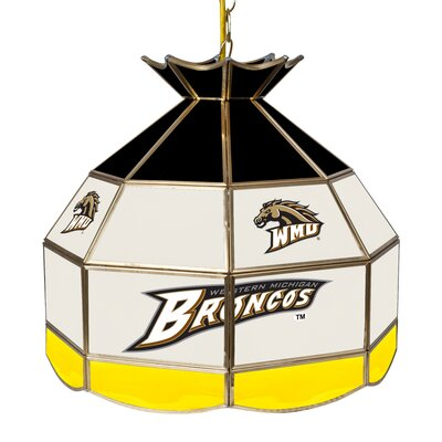 NCAA 16 Stained Glass Tiffany Lamp NCAA Team: Western Michigan University