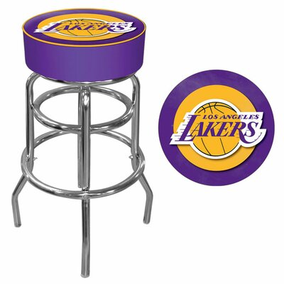 31 inch Swivel Bar Stool NBA Team: Los Angeles Lakers