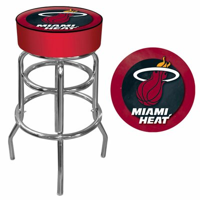 31 inch Swivel Bar Stool NBA Team: Miami Heat
