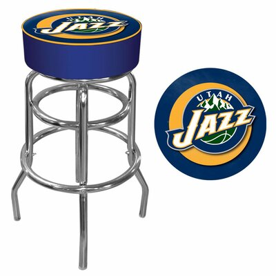 31 inch Swivel Bar Stool NBA Team: Utah Jazz