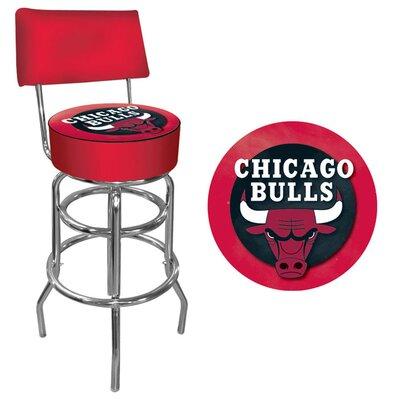 31 Swivel Bar Stool NBA Team: Chicago Bulls