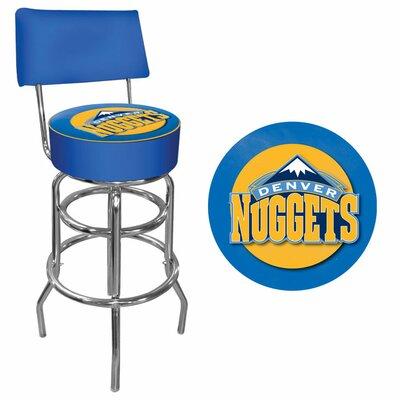 31 Swivel Bar Stool NBA Team: Denver Nuggets
