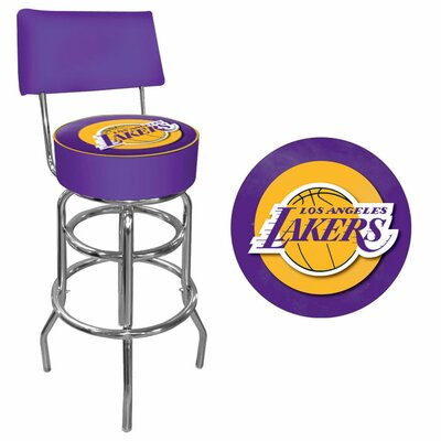 31 Swivel Bar Stool NBA Team: Los Angeles Lakers