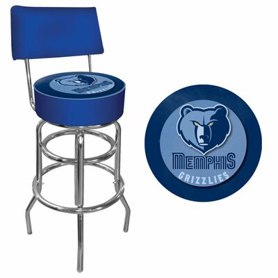 31 Swivel Bar Stool NBA Team: Memphis Grizzlies