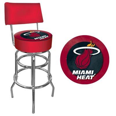 31 Swivel Bar Stool NBA Team: Miami Heat