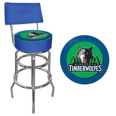 31 inch Swivel Bar Stool NBA Team: Minnesota Timberwolves