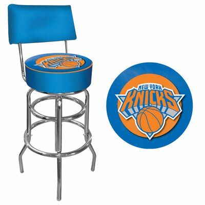 31 inch Swivel Bar Stool NBA Team: New York Knicks