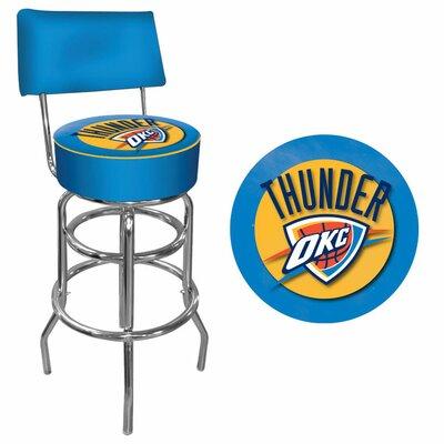 31 Swivel Bar Stool NBA Team: Oklahoma City Thunder