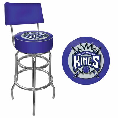 31 inch Swivel Bar Stool NBA Team: Sacramento Kings
