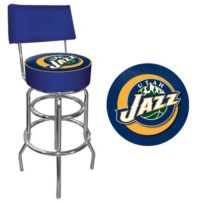 31 Swivel Bar Stool NBA Team: Utah Jazz
