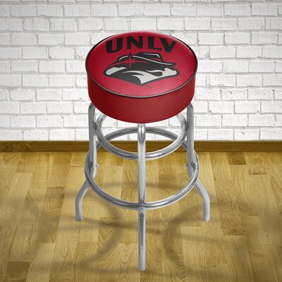 NCAA 31 Swivel Bar Stool NCAA Team: UNLV