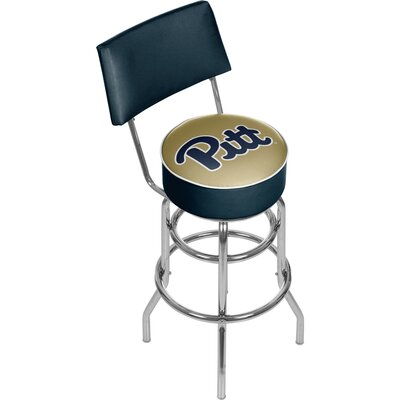 NCAA 31 Swivel Bar Stool NCAA Team: University of Pittsburgh