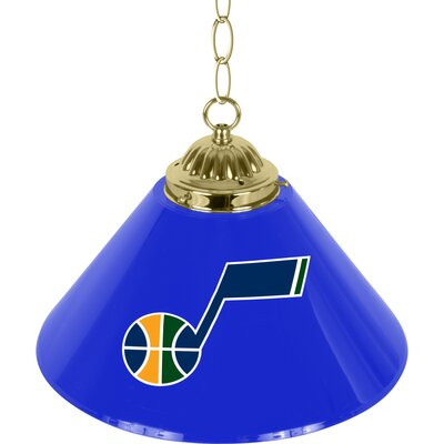 NBA Single Bar Lamp NBA Team: Utah Jazz