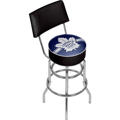 NHL 31 Swivel Bar Stool NHL Team: Toronto Maple Leafs