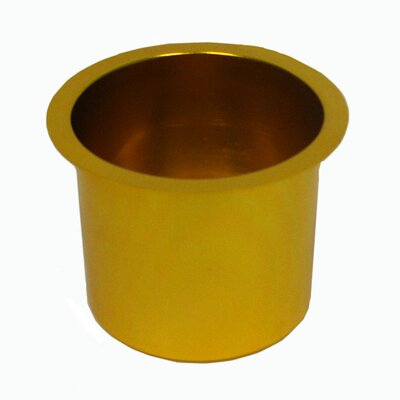 Jumbo Aluminum Poker Table Cup Hold'em 10-48201GOLD-10