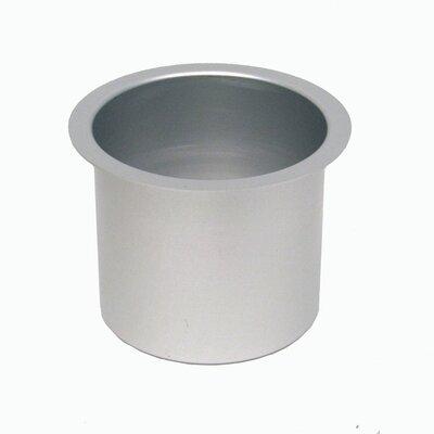 Jumbo Aluminum Poker Table Cup Hold'em 10-48201GRY-10