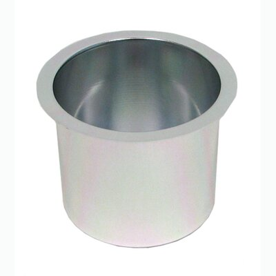 Jumbo Aluminum Poker Table Cup Hold'em 10-48201SILV-10