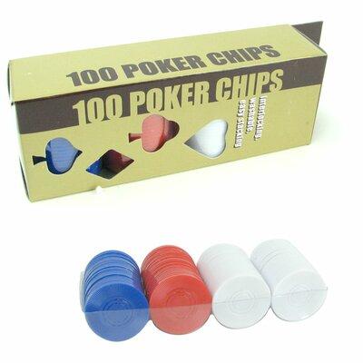 100 Radial Chips Set 10-7010-100
