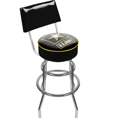 U.S. Army 31 inch Swivel Bar Stool