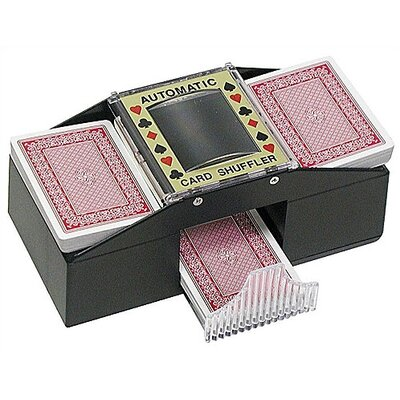 Texas Hold �Em Two Deck Playing Card Shuffler 10-0046