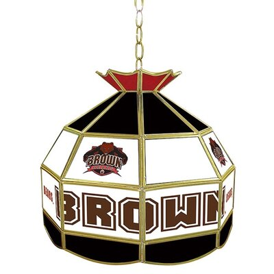 NCAA 16 Stained Glass Tiffany Lamp NCAA Team: Brown University