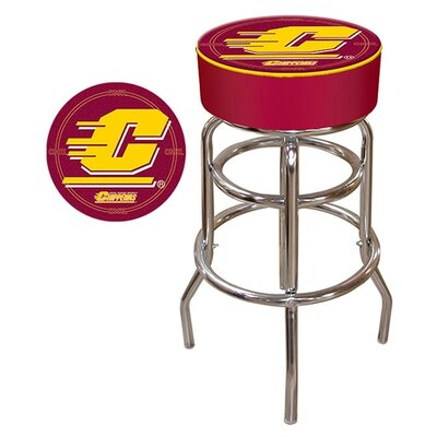 NCAA 31 inch Swivel Bar Stool NCAA Team: Central Michigan