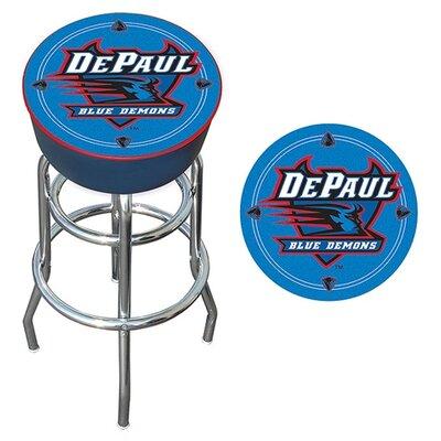 NCAA 31 inch Swivel Bar Stool NCAA Team: DePaul