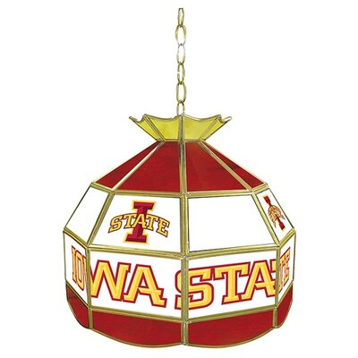 NCAA 16 Stained Glass Tiffany Lamp NCAA Team: Iowa State