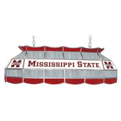 NCAA Pool Table Light NCAA Team: Mississippi State