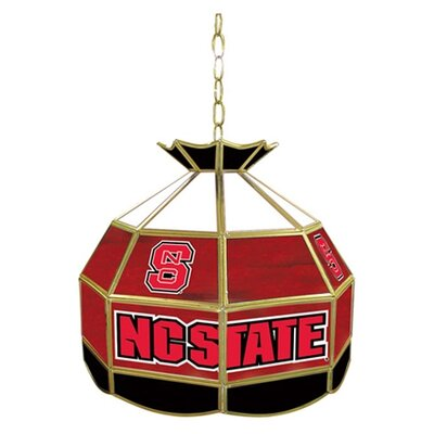 NCAA 16 Stained Glass Tiffany Lamp NCAA Team: North Carolina State