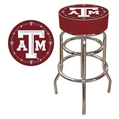 NCAA 31 Swivel Bar Stool NCAA Team: Texas A&M