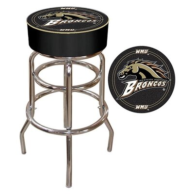 NCAA 31 Swivel Bar Stool NCAA Team: Western Michigan University