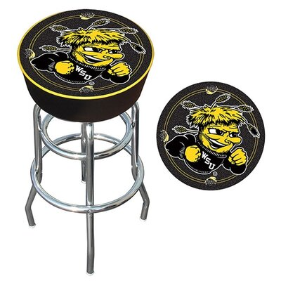 NCAA 31 Swivel Bar Stool NCAA Team: Wichita State