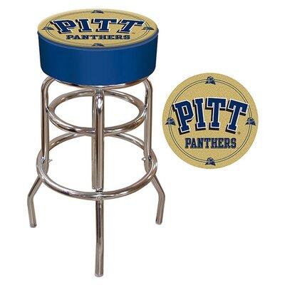 NCAA 31 inch Swivel Bar Stool NCAA Team: Pittsburgh