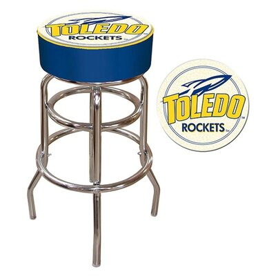 NCAA 31 inch Swivel Bar Stool NCAA Team: Toledo