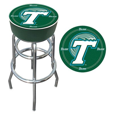 NCAA 31 Swivel Bar Stool NCAA Team: Tulane