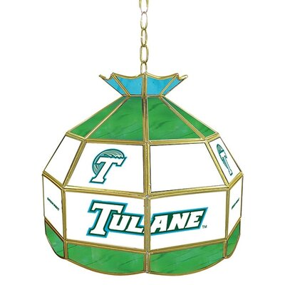 NCAA 16 Stained Glass Tiffany Lamp NCAA Team: Tulane