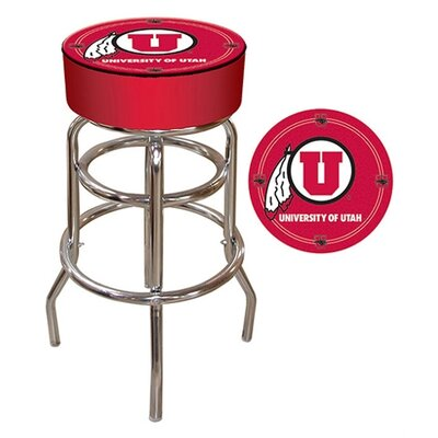 NCAA 31 Swivel Bar Stool NCAA Team: Utah
