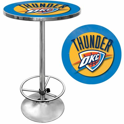 Easy financing NBA Chrome Pub Table NBA Team: Okla...