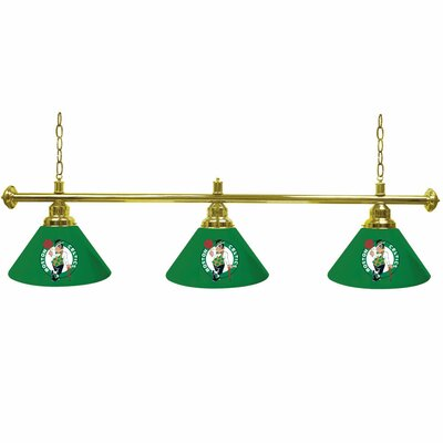 NBA 3-Light Billiard Light NBA Team: Boston Celtics