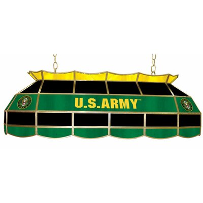 U.S. Army 3-Light Tiffany Billiard Light Style: Symbol
