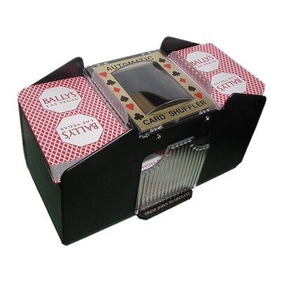 Automatic Four Deck Playing Card Shuffler 10-2709LL