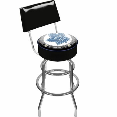 NHL 31 Swivel Bar Stool NHL Team: Toronto Maple Leafs Vintage
