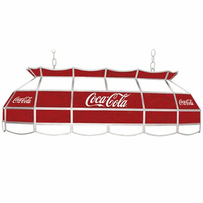 Coca Cola 3-Light Pool Table Light