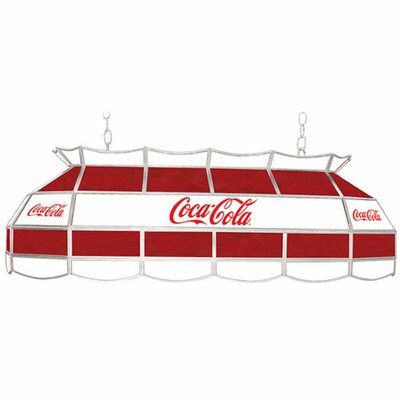 Coca Cola Vintage 3-Light Pool Table Light