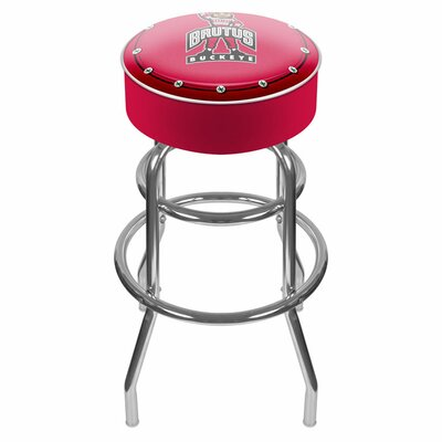 "NCAA 31"" Swivel Bar Stool NCAA Team: Ohio State University - Brutus Buckeye LRG1000-OSU-BRUT"