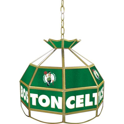 1-Light Tiffany Vanity Light NBA Team: Boston Celtics