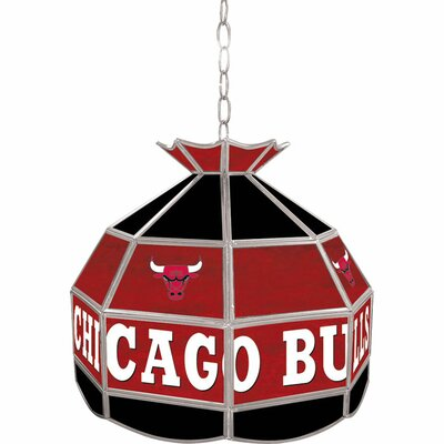 Image of 1-Light Tiffany Vanity Light NBA Team: Chicago Bulls