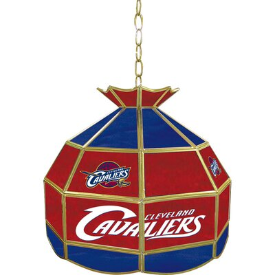 1-Light Tiffany Vanity Light NBA Team: Cleveland Cavaliers