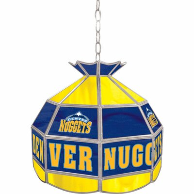 1-Light Tiffany Vanity Light NBA Team: Denver Nuggets